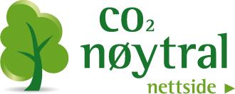 Vi er CO2 nøytrale